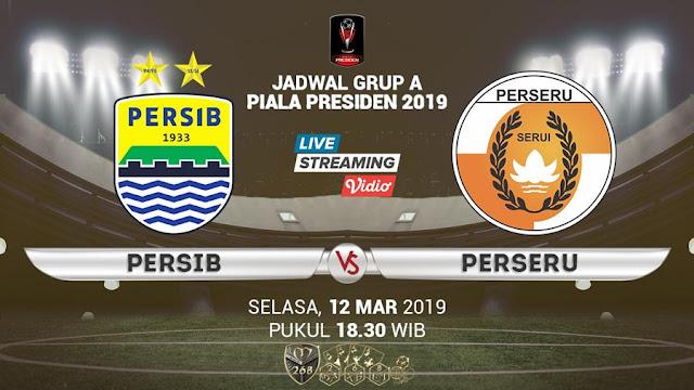 Prediksi Persib Bandung Vs Perseru Serui, Selasa 12 Maret 2019 Pukul 18.30 WIB @ Indosiar