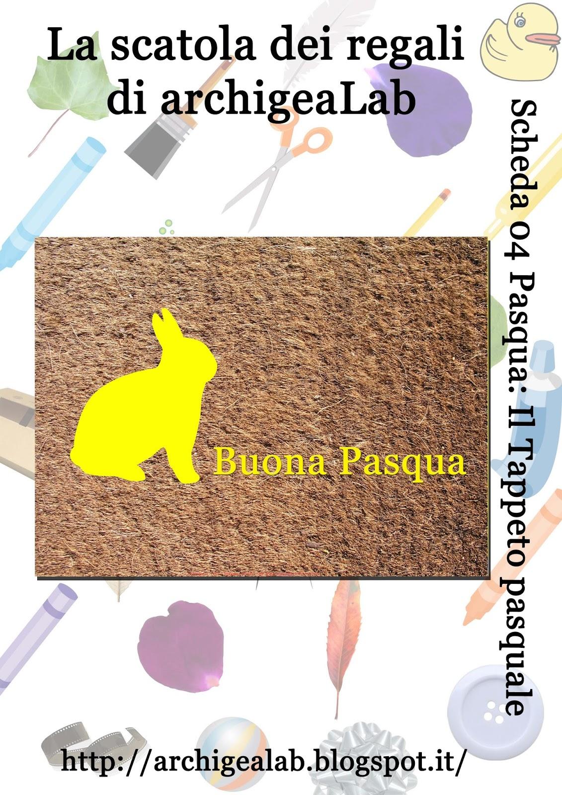 Archigealab la scatola dei regali di archigealab il - Foglio colore coniglietto pasquale ...