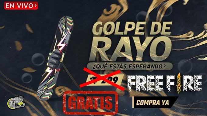 OBTEN EL GOLPE DE RAYO FREE FIRE GRATIS