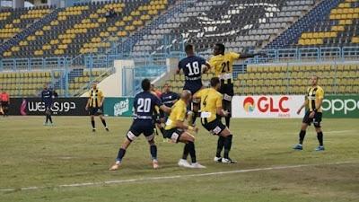اهداف مباراة المقاولون العرب وانبي (2-1) الدوري المصري