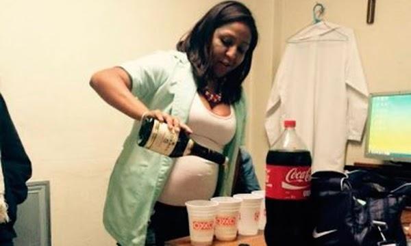 Exhiben a enfermera del IMSS con bebidas alcohólicas en consultorio