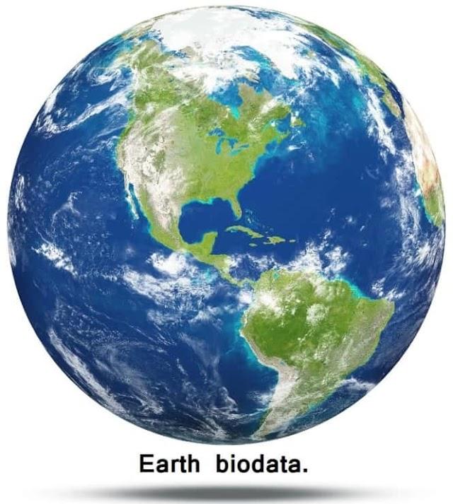 பூமி - பயோடேட்டா - Earth biodata.