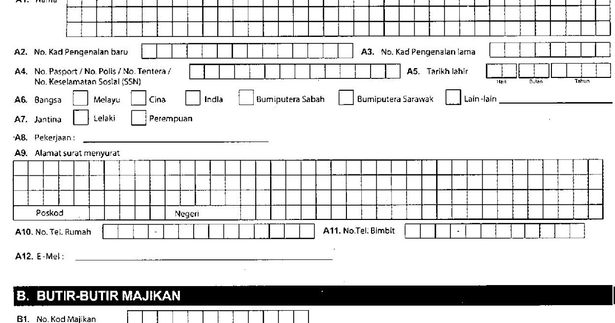 Budak Bakong Cara Nak Isi Borang 34 Perkeso Tuntutan Kemalangan Semudah A B C