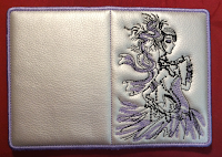 обложка на паспорт с девушкой своими руками