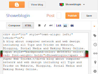 Add | Put | Embed Google Map Between Blog Post Blogger Tricks