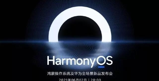 HarmonyOS arriverait officiellement les 2 et 21 juin