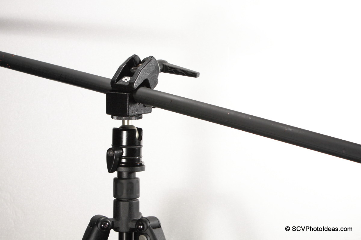 Triopo RS-3 w/ Manfrotto SC35 & Tube deformation
