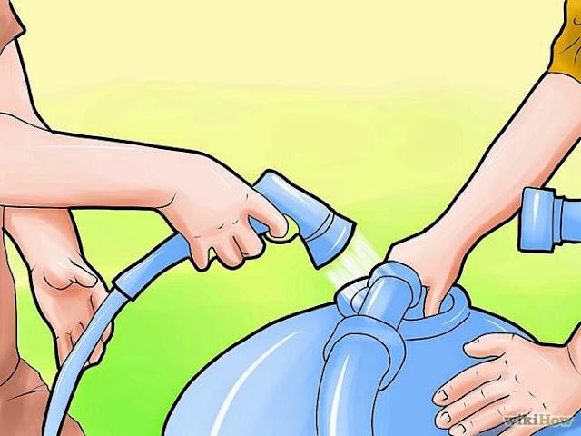 """Cara mengganti tangki filter pasir  di kolam renang """"gambar 3"""""""