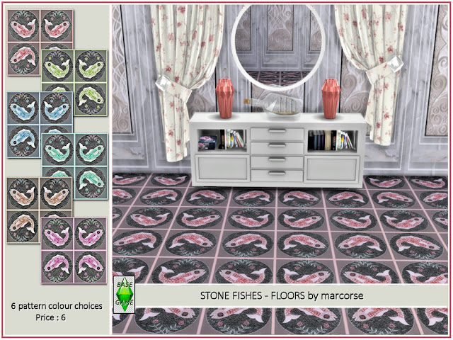 Квфельные покрытия пола для The Sims 4 со ссылками на скачивание