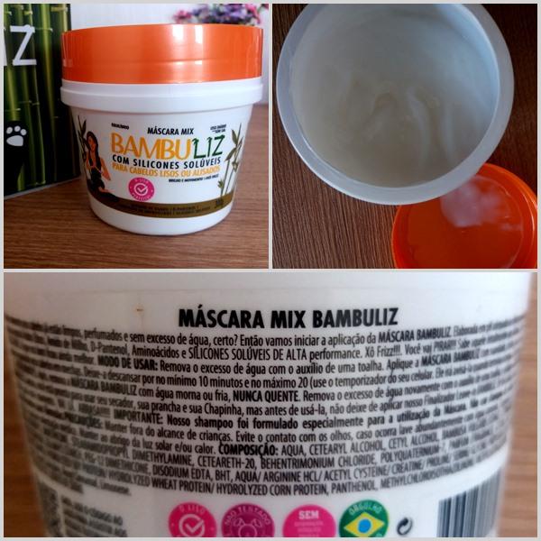 Produtos para cabelo: Máscara Mix da linha Bambuliz