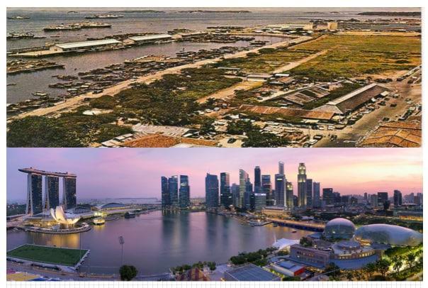 Negara berdaulat ini telah menjadi pusat bisnis global utama. Investasi asing telah mengubah inti pusat kota menjadi labirin gedung pencakar langit yang berkilau.