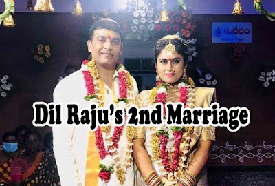 dil raju second wife pics