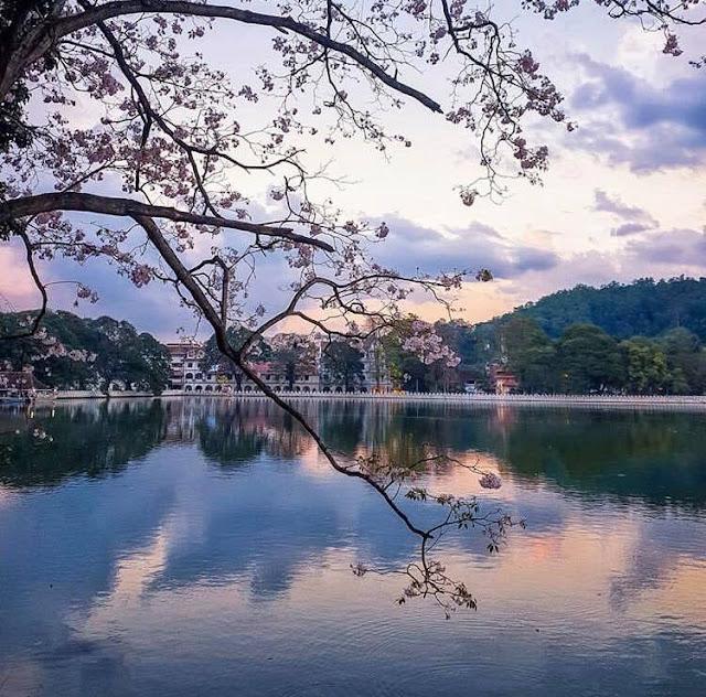 කිරිමුහුද වැව රවුම - නුවර වැව 🙏🍃🌅 (Kandy Lake) - Your Choice Way