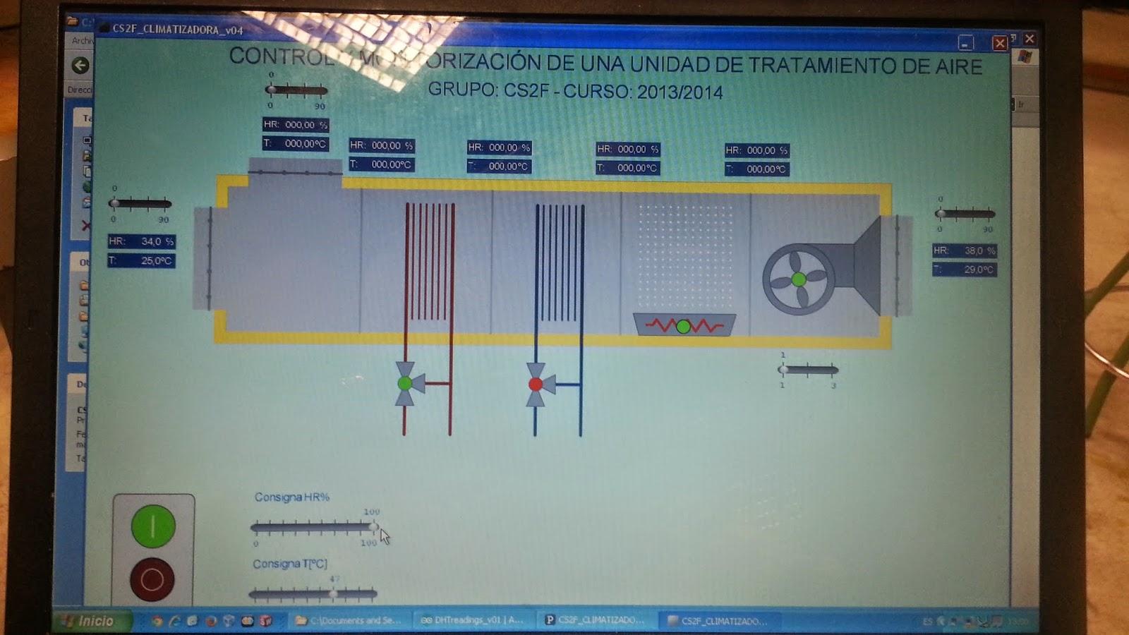 Programación Arduino para climatización IES Azuer 2 CFGS