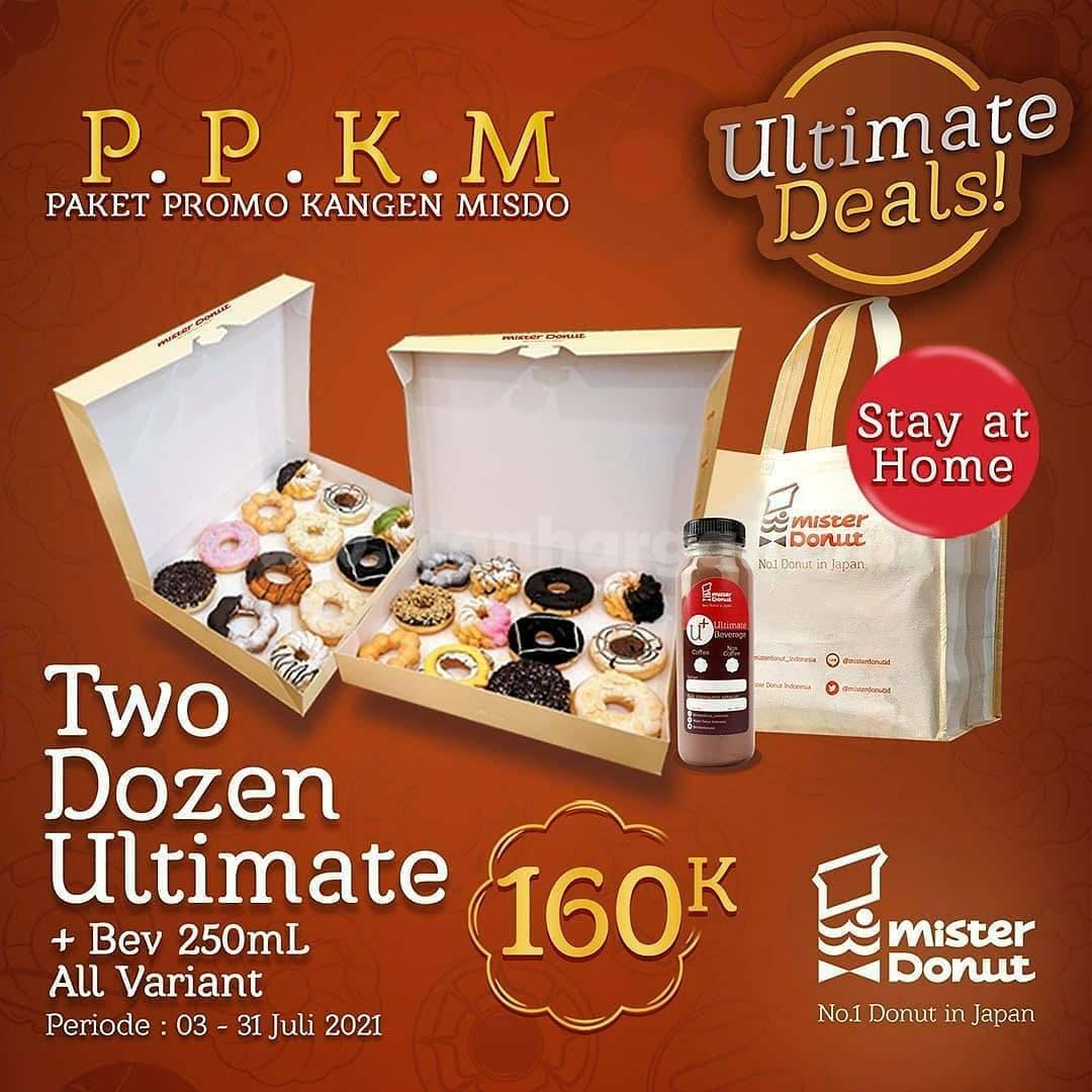 Mister Donut Promo PPKM (Paket Promo Kangen MISDO) 2