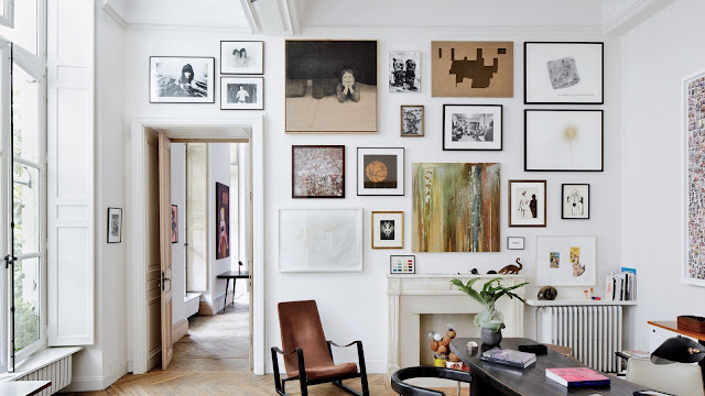 design ideas for a large living room wall