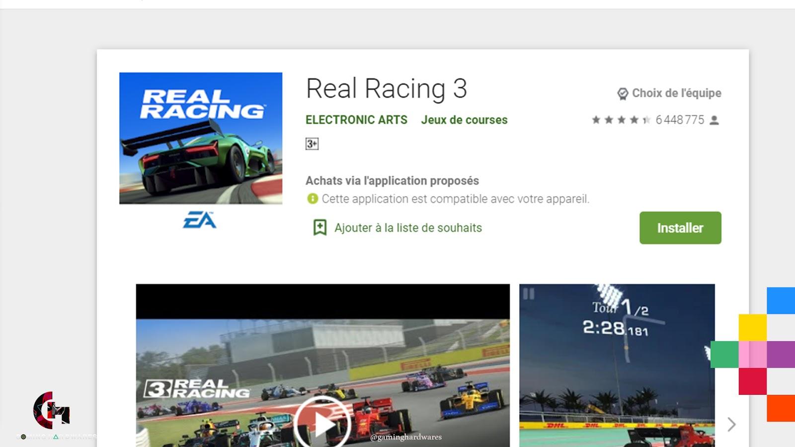 لعبة Real Racing 3 للأندرويد