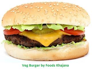 Veg Burger Recipe Easy Home Made Burger Recipe In Hindi Foods Khajana All Type Of Food Recipes