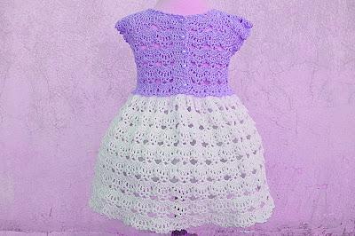 6 - Crochet Imagen Falda a crochet y ganchillo canesú rosa por Majovel Crochet