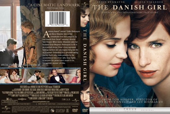 The Danish Girl – Latino, Inglés