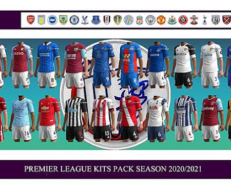 PES 2013 Premier League Kitpack Season 2020/2021