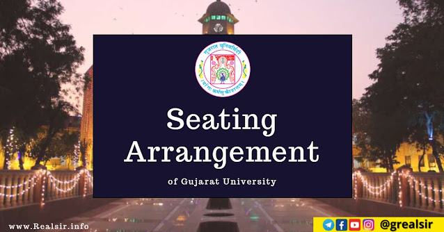 Seating Arrangement - Gujarat University