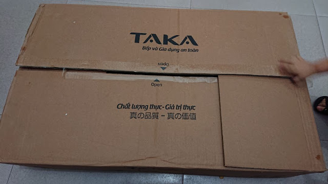 Review, đánh giá bếp gas hồng ngoại Taka HG9