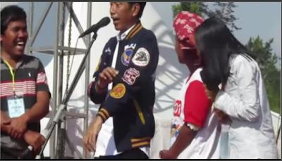 3 Jawaban Lucu Saat Jokowi Bertanya, Ada Yang Minta Jadi Menantu