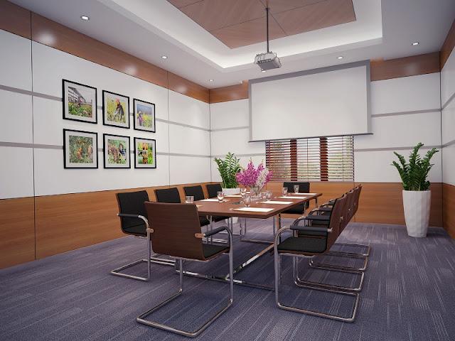 Tùy vào từng diện tích không gian phòng họp mà lựa chọn kích thước nội thất phòng họp phù hợp tạo tính khoa học chuyên biệt cho căn phòng