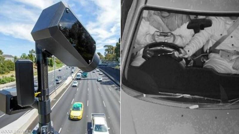 Operando las primeras cámaras del mundo para monitorear el uso del teléfono mientras se conduce
