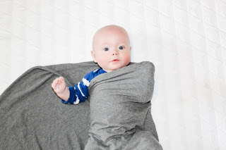 how to swaddle a baby step 3