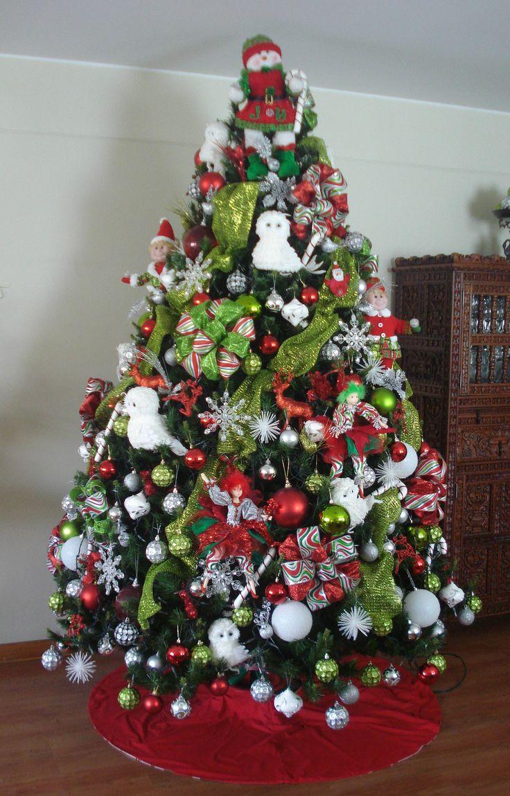 Arbol De Navidad Decorado De Disney