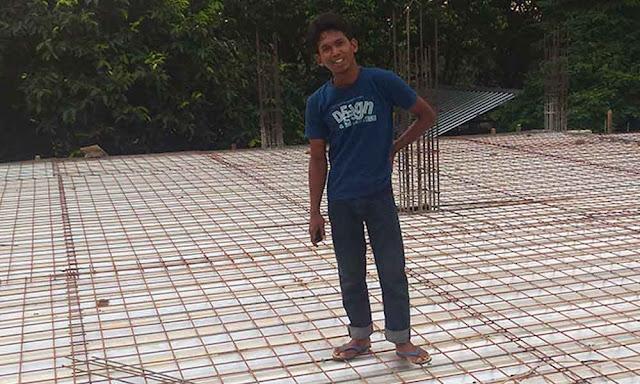 Ukuran Besi Beton Untuk Dak