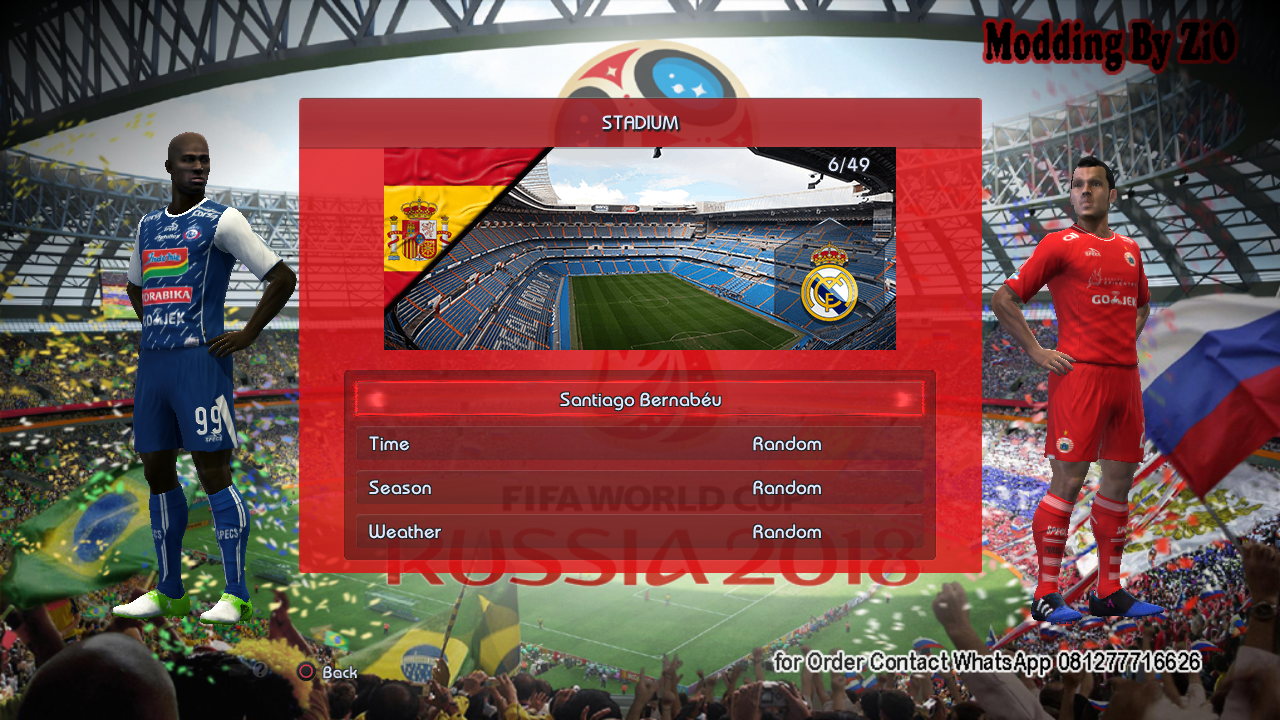 Download PES 2013 Winter 18 + World Cup Edition by ZiO