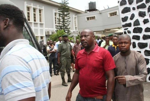 Photos: Oil Thief Laughs Hysterically As He Was Handed 6 Years Imprisonment