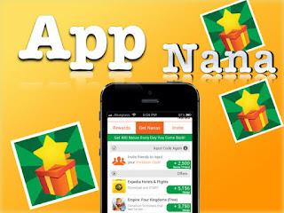 aplikasi penghasil uang app nana