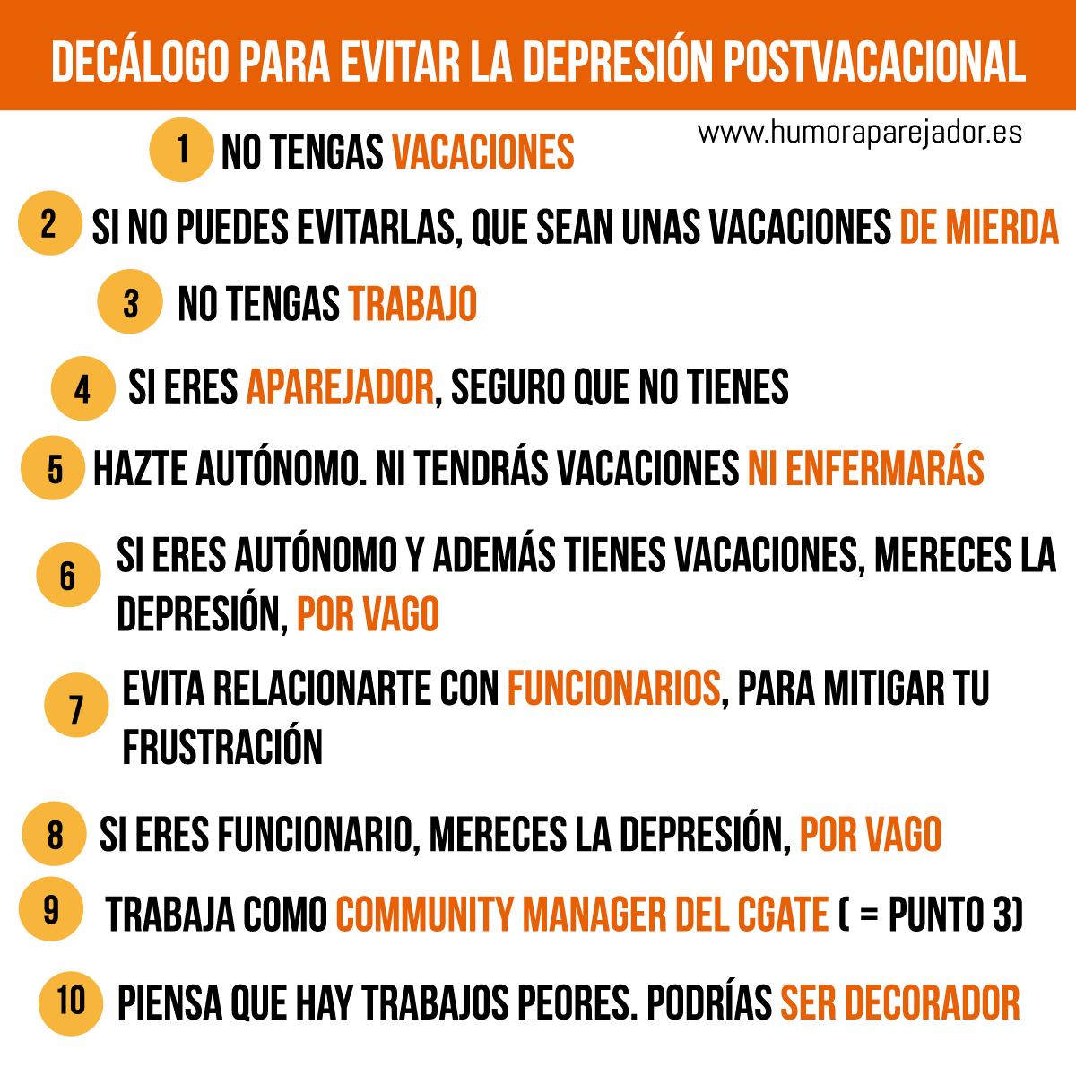 Humor aparejador - Consejos para superar la depresion ...