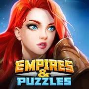 تحميل لعبة empires & puzzles مهكرة