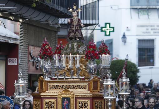 Horario e Itinerario Procesión Niño Jesús de la Compañía. Córdoba 02 de Enero del 2020
