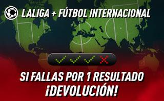 sportium Fútbol: Combinada con seguro hasta 12 enero 2020