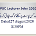 Lecturer Applications Status August 27, 2020 at 8:30PM
