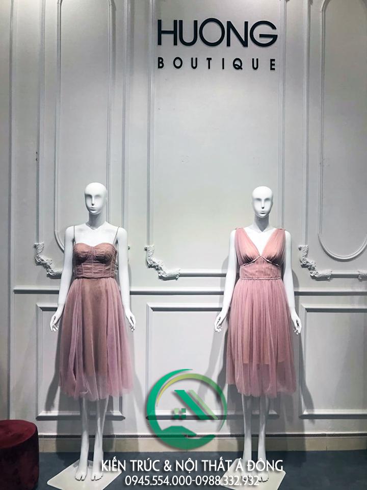 Mẫu thiết kế shop quần áo Hương Boutique tại Yên Bái