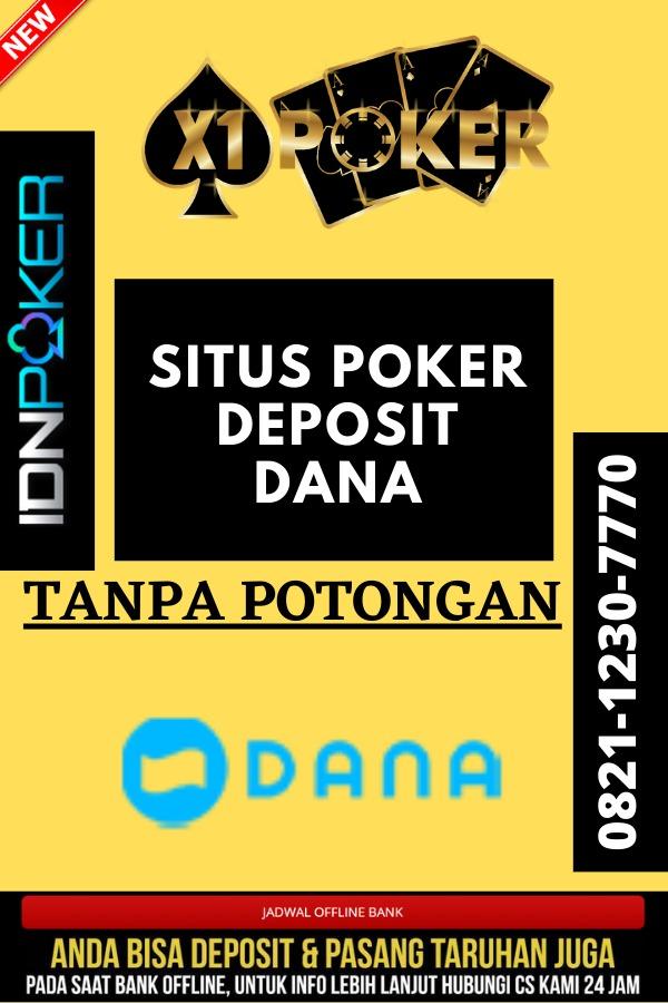situs poker deposit dana