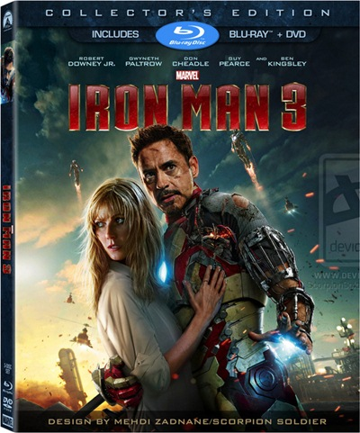 Iron Man 3 3D SBS Latino Dual