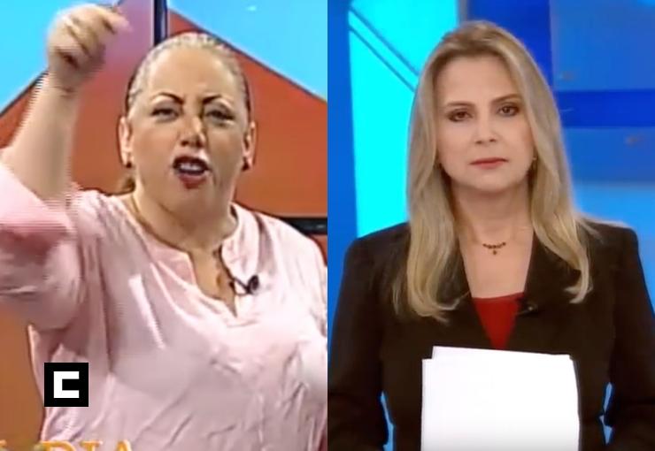 """(Video) La Tora a Nuria: """"Te llegó tu maldita hora"""""""
