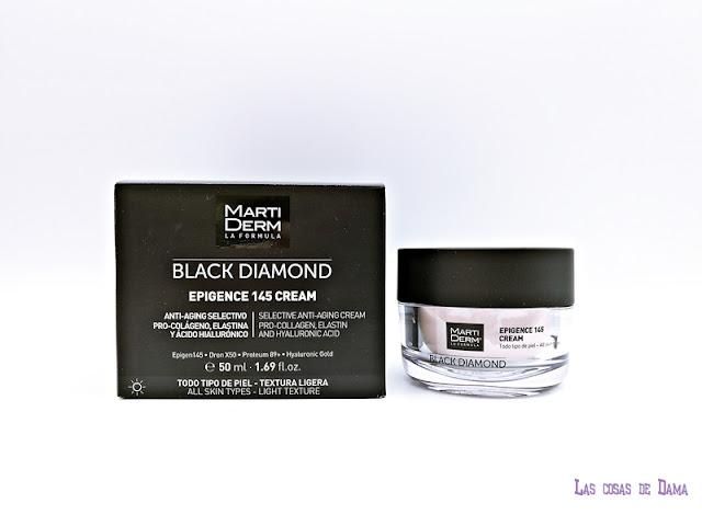 Black Diamond Epigence 145 Martiderm Epigenética beauty skincare antienvejecimiento dermocosmetica