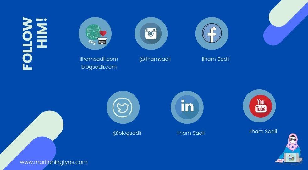 blog dan media sosial Pemuja Rahasia