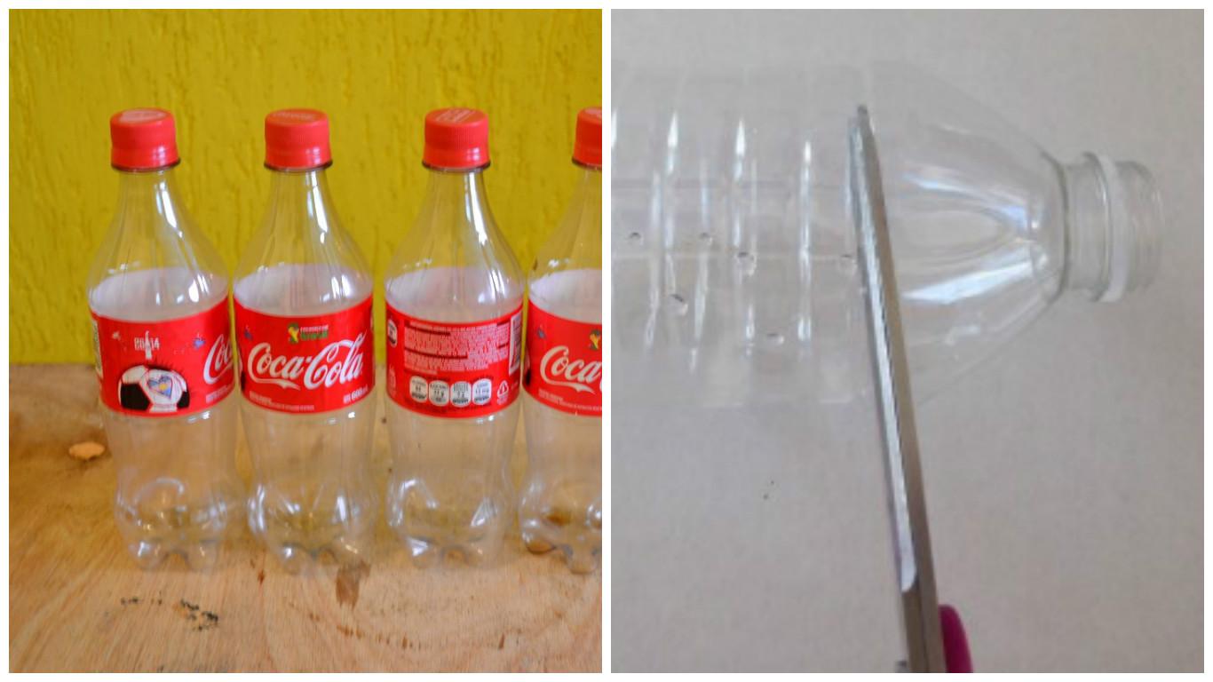 Aprende c mo hacer flores con botellas de pl stico y - Como hacer plastico liquido ...