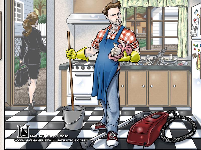 Gender Stereotypes: MEN: Househusbands are Rare  Gender Stereoty...