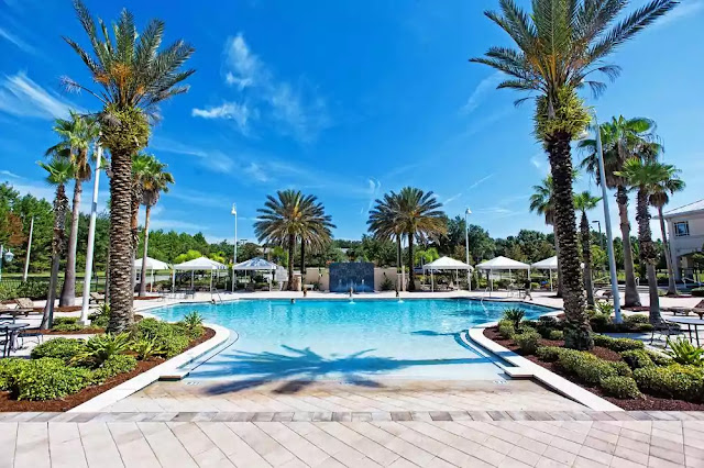Piscina do Monumental Hotel em Orlando